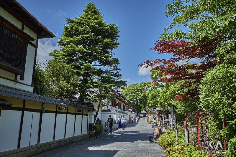 In Higashiyama-ku