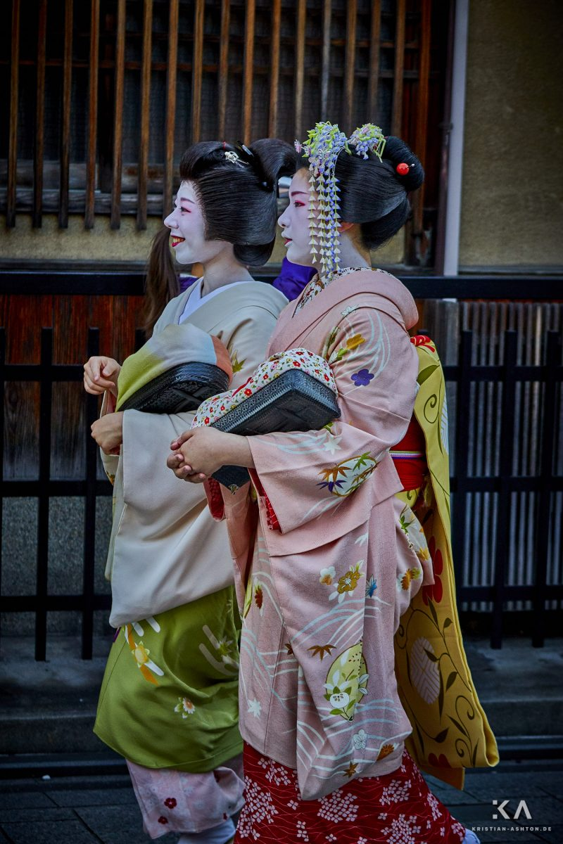 Maiko (Geisha in training) in Gion