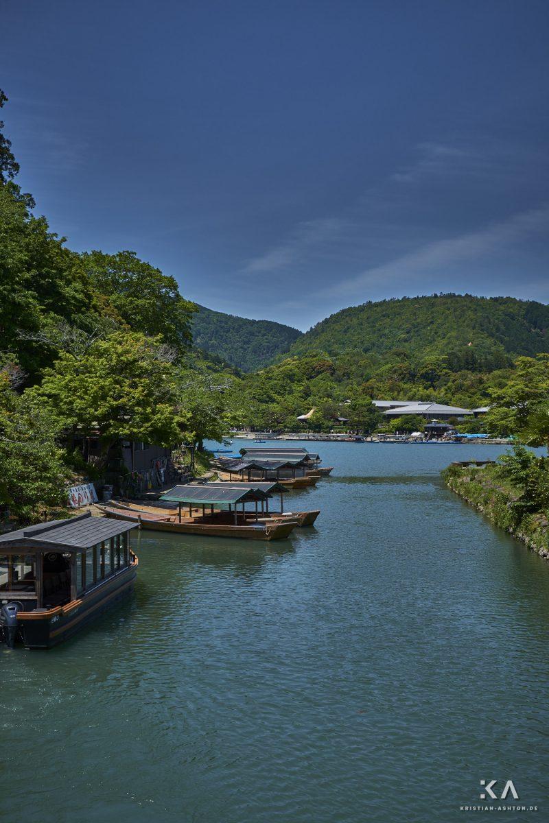On the way to Arashiyama Monkey Park Iwatayama