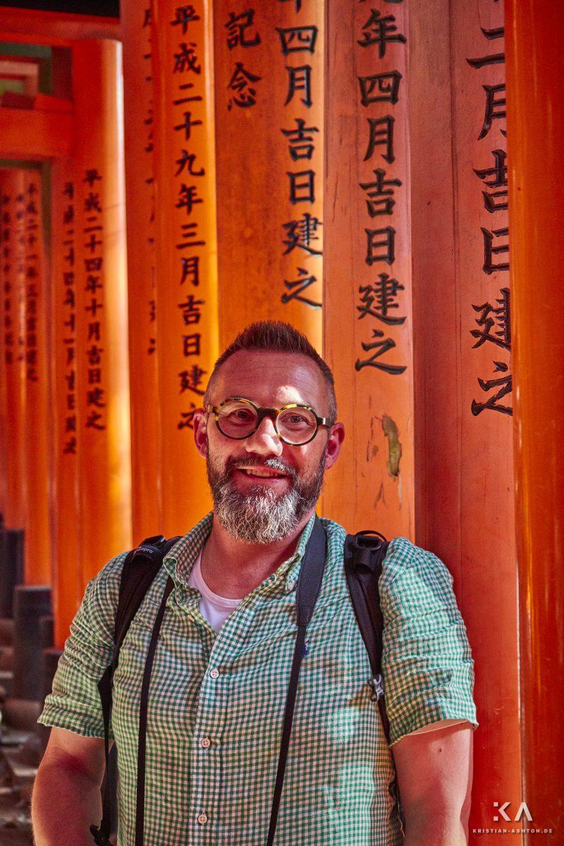 Kristian at Fushimi Inari Taisha