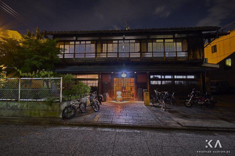 Kinse Inn - our Ryokan in Kyoto