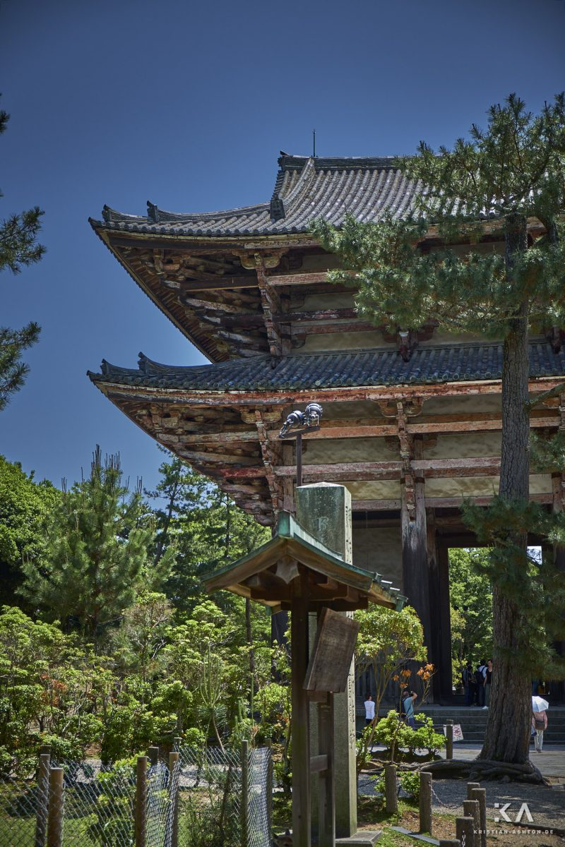 Nandaimon Gate of Todai-ji