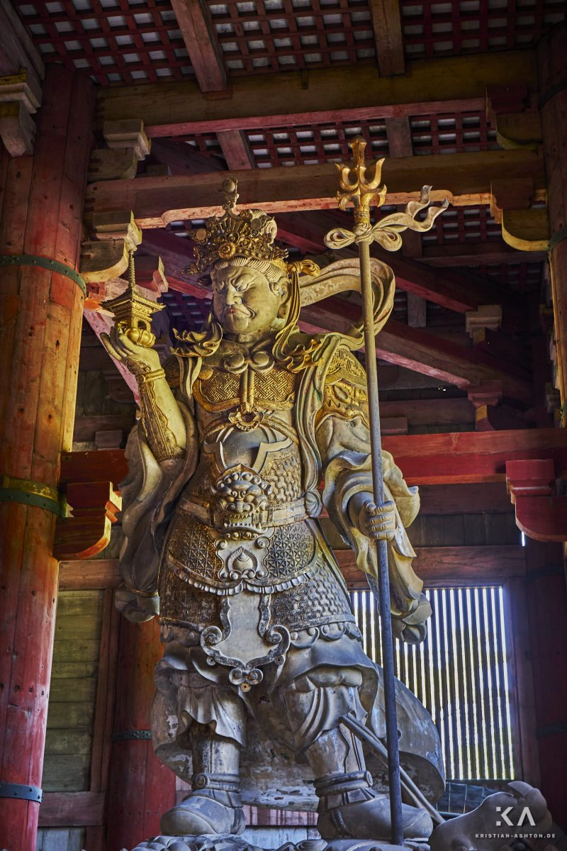 Todai-ji temple - one of the largest wooden buildings in the world