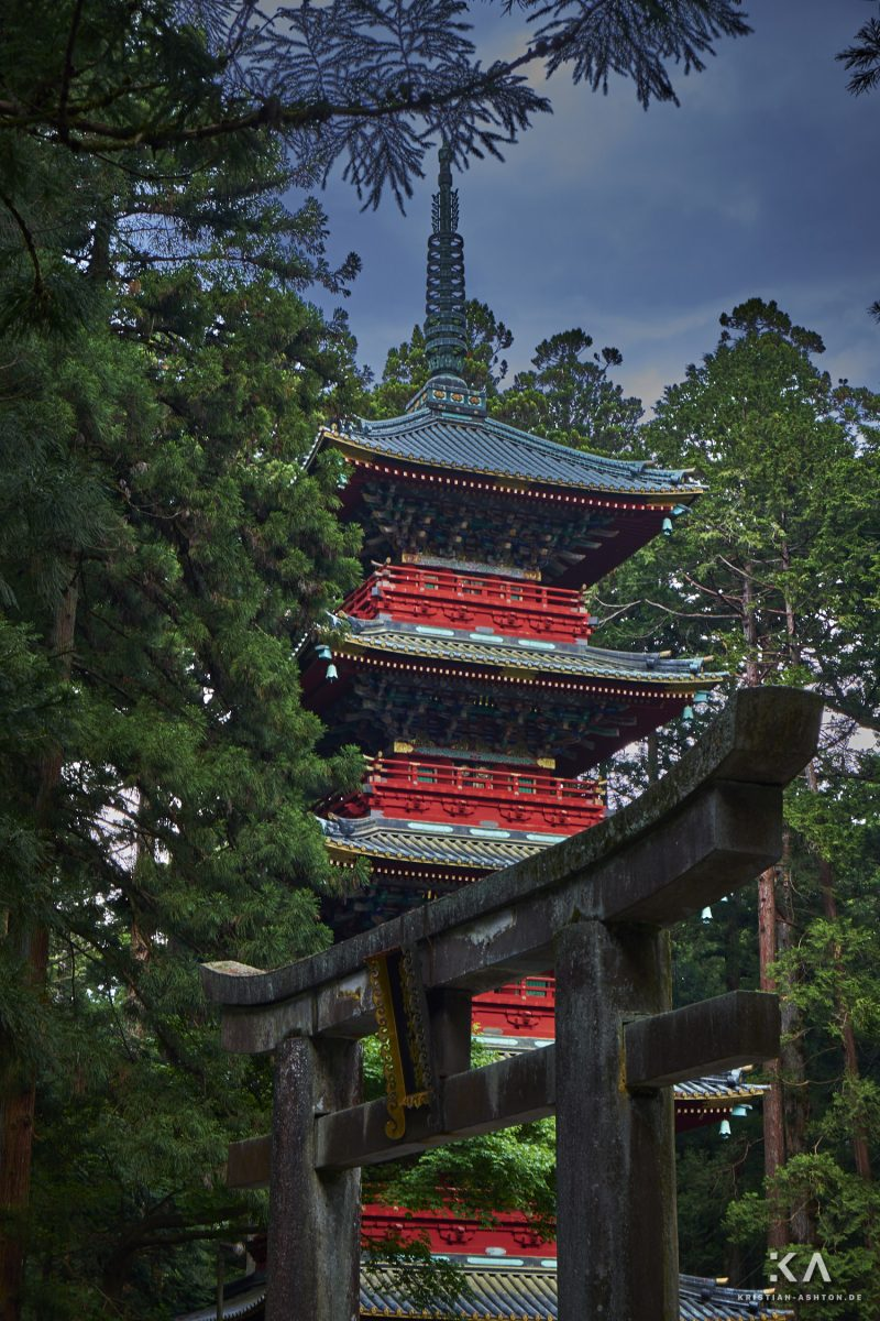 Gojunoto - five-story pagoda of the Toshogu shrine site