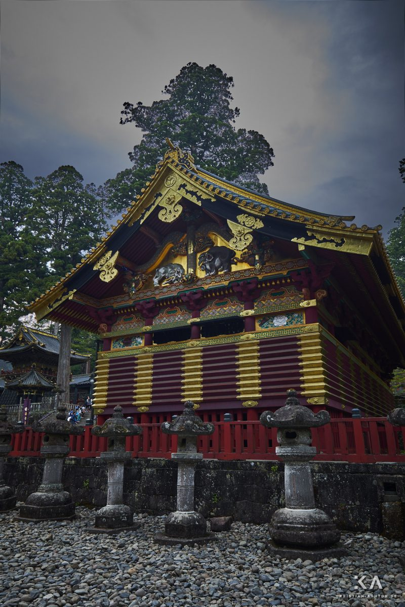 Sanjinko - the three sacred warehouses of the Toshogu shrine site