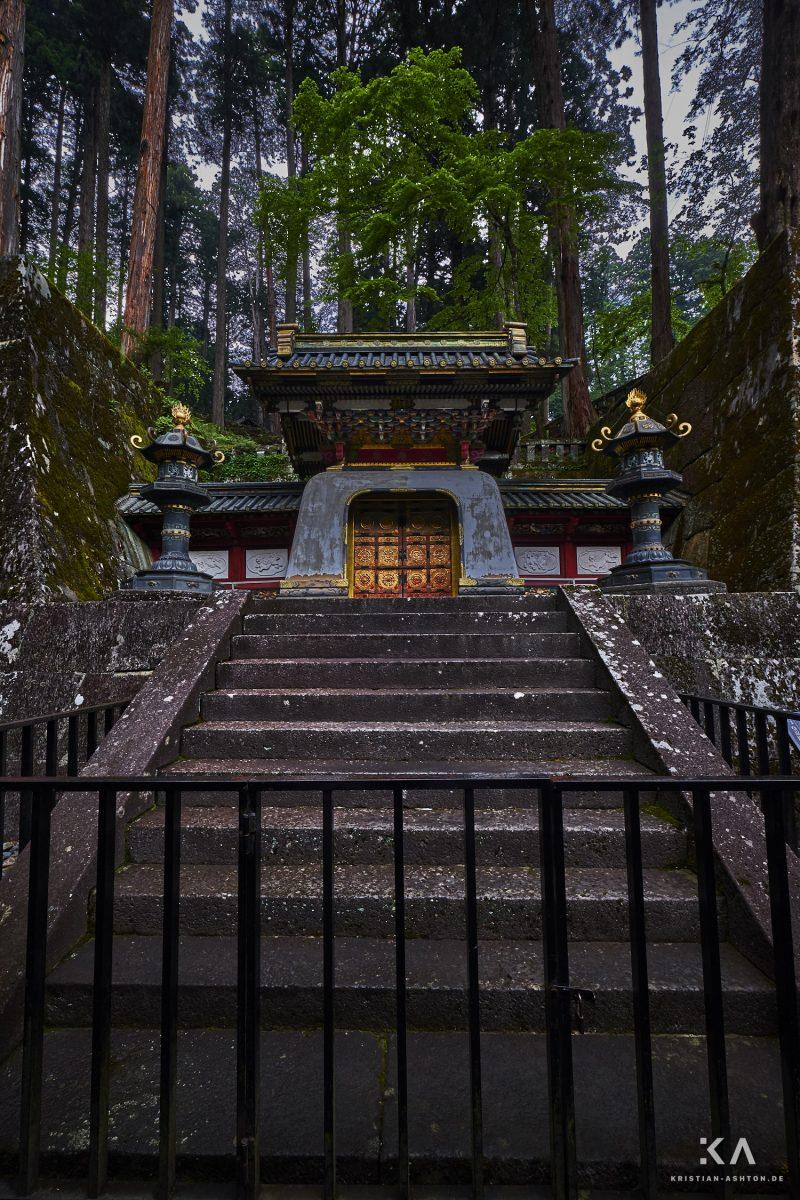 Taiyuin temple site - das mausoleum of Tokugawa Iemitsu - third Shogun of the Edo period