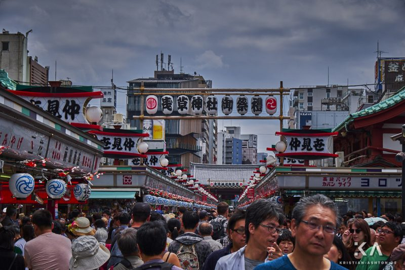 Festival in and around the Senso-ji temple