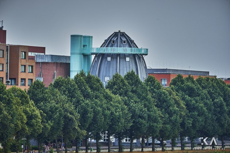 View towards the Bonnefanten Museum from the Hoge Brug bridge
