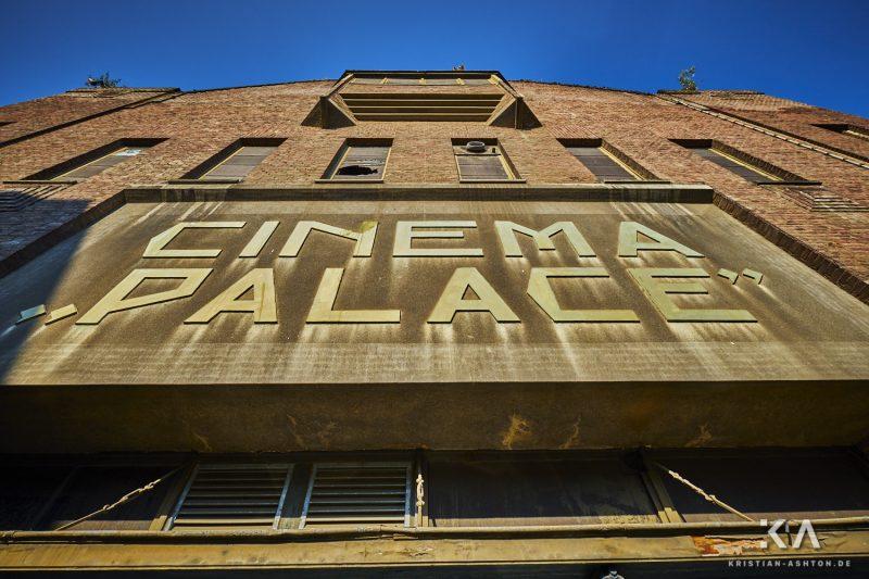 The abandoned Cinema Palace
