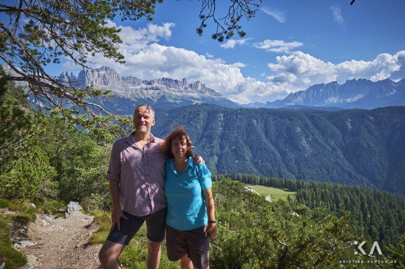 Hike from guesthouse Schönblick to the mountain summit Völseggspitze - Ralph and Sabine