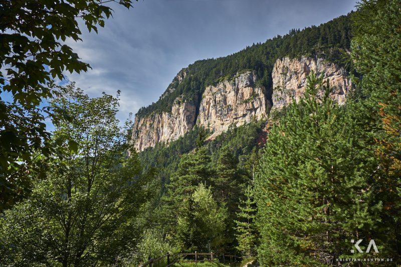 Hike from guesthouse Schönblick to the mountain summit Völseggspitze