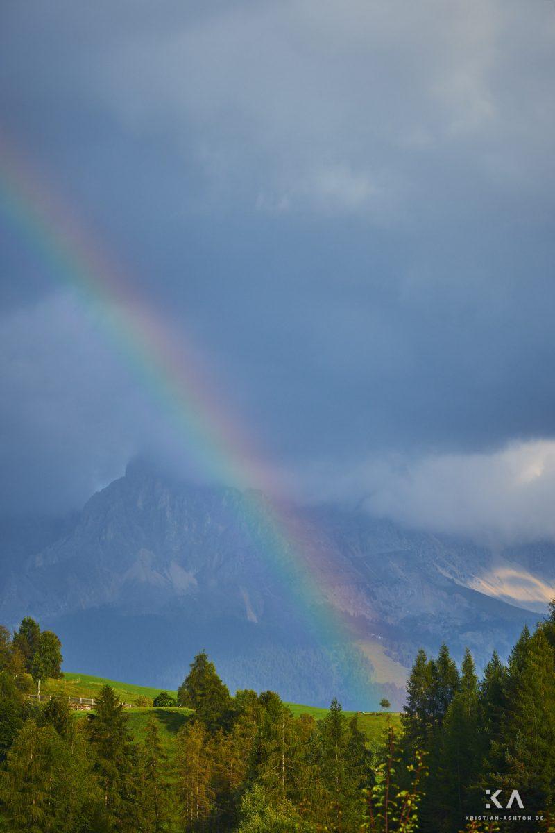 Rainbow over the Latemar