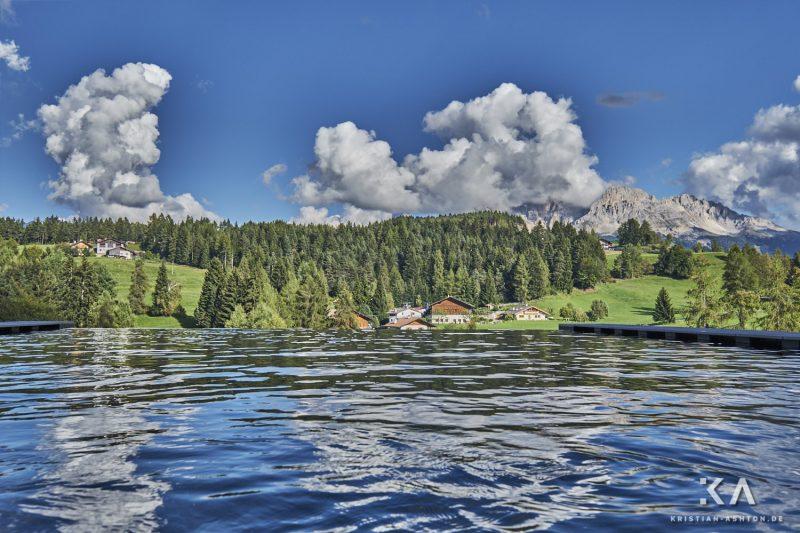 Pfösls Infinity-Pool - what an amazing view!