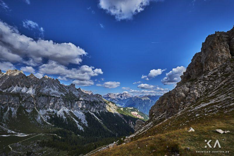 Rosengarten-Wanderung über den Vajolonpass