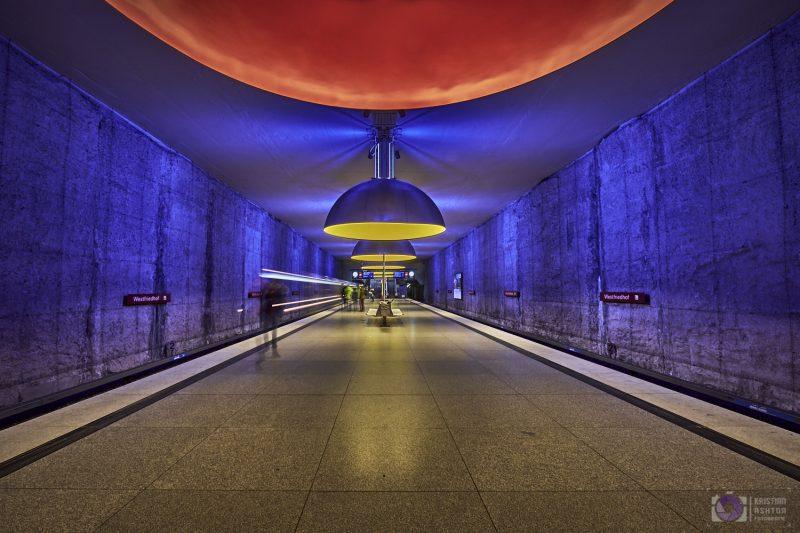 Underground station Westfriedhof