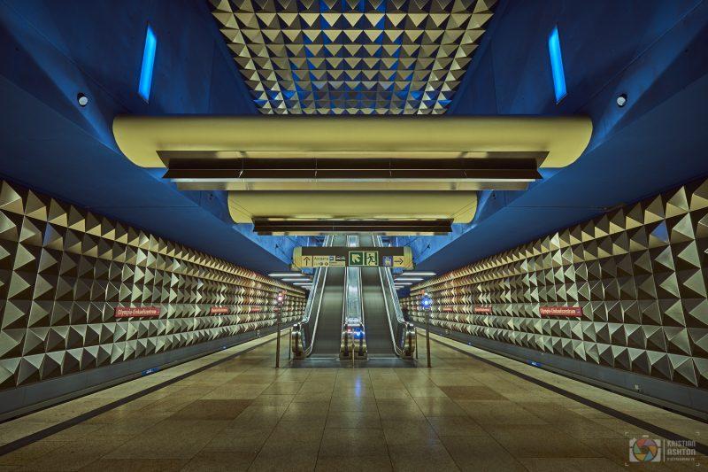 Underground station Olympia-Einkaufszentrum (Olympia Shopping Centre)